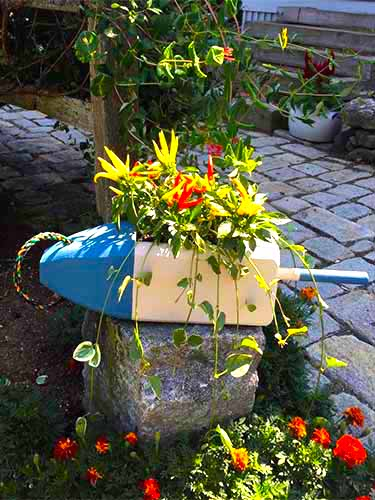 Lobster Buoy Planter